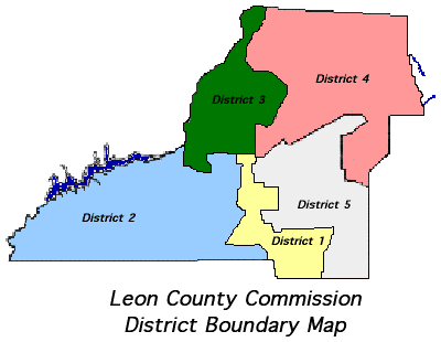 Commission District 	Map